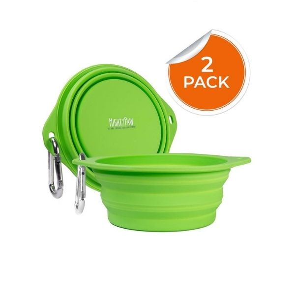 Mighty Paw Collapsible Travel Dog Bowl
